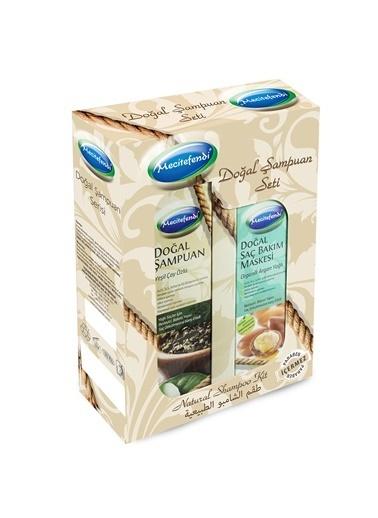 Doğal Şampuan - Yeşil Çay (250 Ml.) + Doğal Saç Bakım Maskesi - Organik Argan Yağlı (150 Ml.)-Mecitefendi
